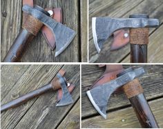 Scout by dylan McCoun of McCoun tomahawks  Only two available at www.mccountomahawks.com  Check them out. Damascus Sword, Tomahawk Axe, Bullets, Knifes, Tactical Gear, Martial, Weapons, Blade, Medieval