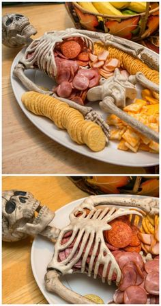 Halloween will soon be here! Halloween is full of frightening desserts and decorations. In this case, we need to create the best Halloween dessert table ever. Use Halloween-themed dessert tables to add some holiday fun, perfect for boys'Halloween par Halloween Desserts, Halloween Appetizers For Adults, Halloween Food For Adults, Comida De Halloween Ideas, Halloween Dessert Table, Hallowen Food, Appetizers For Kids, Adult Halloween Party, Halloween Food For Party