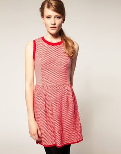 ASOS Knitted Dress With Stitch Detail $24.17 (sale)