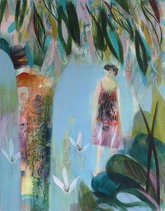 becky blair * artist - paintings: dappled shade