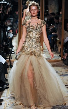 Marchesa Fall 2012. Photographed by firstVIEW.