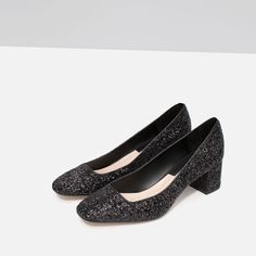 MID HEEL GLITTER SHOES-View all-Shoes-WOMAN | ZARA United States
