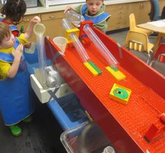 SAND AND WATER TABLES: DUPLO BOARD RAMP II