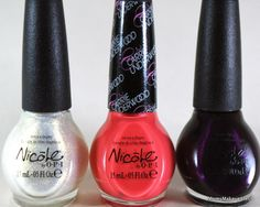 Nicole By OPI Carrie Underwood (Swatches): Sing You Like a Bee, Sweet Daisy & Fisher Queen