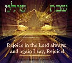 Shabbat and the Ark of the Covenant