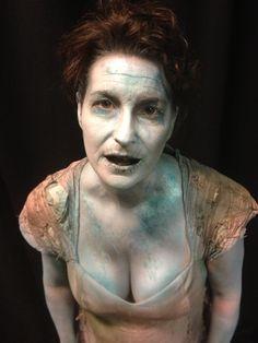 drowned makeup | DANIEL HIRSCH M A K E U P A R T I S T I L L U S T R A T O R