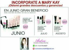 Incorporate a Mary Kay Argentina!  aumentá tus ingresos $ CONTACTAME (sólo Argentina)