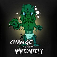 Cool and Funny Creature from the Black Lagoon T-shirts, getting ready for the Creature from the Black Lagoon remake. Online Tshirt Design, Black Lagoon, Tshirts Online, Cool Designs, Weird, Creatures, Cool Stuff, Funny, T Shirt