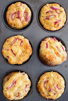Recipe: Savory Radish and Goat Cheese Muffins — Recipes from The Kitchn