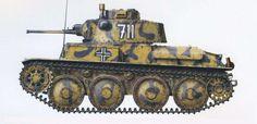 Panzerkampfwagen Ausf E-F, Regimiento Panzer, División Panzer, Crimea, primavera de Panzer Ii, World Tanks, Camouflage Colors, Engin, Ww2 Tanks, Chenille, Military Equipment, German Army, Armored Vehicles