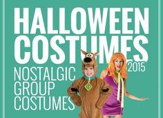 Nostalgic group Halloween costume ideas for 2015!