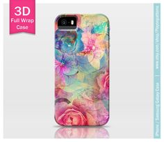 Roses iPhone 4s case iPhone 4 case iPhone 5 case iPhone 5s case iPhone 5c case Samsung Galaxy S4 - colorful rose collection case