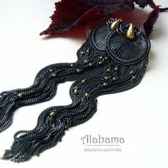 Night stars  beautiful very long elegant silver by AlabamaStudio