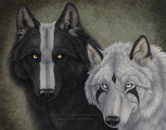 Kali and Taika by Sidonie.deviantart.com on @deviantART