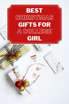 BEST CHRISTMAS GIFTS FOR A COLLEGE GIRL How do you find the best Christmas gifts for a college girl? Finding the best Christmas gifts for a college girl can be tough. Here is a handy list that I've put together with the best Christmas gifts for a college girl. Many people struggle with coming up with good Christmas gifts ideas for college girls, luckily all girls are unique so there are a ton of Christmas gifts for college girls that works for different girls! Here is my personal… Inexpensive Christmas Gifts, Teenage Girl Gifts Christmas, Christmas Gifts For Coworkers, Diy Holiday Gifts, Holiday Gift Guide, Christmas Fun, Christmas Markets, Gifts For College Boys, College Girls