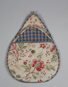 Kjolsäck - Skansen / DigitaltMuseum Scandinavian Embroidery, Swedish Embroidery, Sewing Pockets, Traditional Dresses, Folklore, Needlework, Africa, Textiles, Costumes