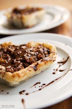 Chocolate Walnut Date Tarts by Harald Walker, via 500px