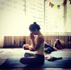 …morning after ashtanga yoga practice with Dominic Corigliano … from Shiho the purplehaze on flickr