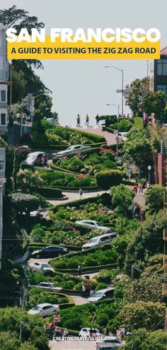 When we headed to San Francisco, a top place on our list of things to do has to be Lombard Street – also known as the famous ZigZag road in San Francisco. Starting at Hyde Street, this zig zagging road can be driven and walked down.  #SanFrancisco #USA #California #Californiaplacestogo #SanFranciscoThingstodo