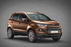 Recap - USA To Get India-made Ford EcoSport In 2017 – Report
