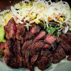 赤味のミディアムレアが一番美味しく感じる年齢…微妙Ψ( ̄∇ ̄)Ψ - 136件のもぐもぐ - 旦那の手作りシリーズ ステーキ Beef steak cooked by my boss. by BUBU