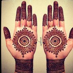 bridal mehndi henna designs  Repinned by #EnjoySomruS www.SomruS.com