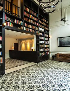 The Alcove Library Hotel in Ho Chi Minh City mixes classic elegance together with a dash of contemporary cool and quirky charm #Indistay