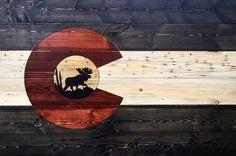 "Beetle Kill Pine Colorado Flag (48""x32"")"
