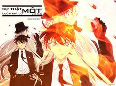 Gin & Shinichi Conan, Anime Love, Anime Guys, Fbi Cia, Lost Voice, Kids Fans, Gosho Aoyama, Numbers For Kids, Magic Hands