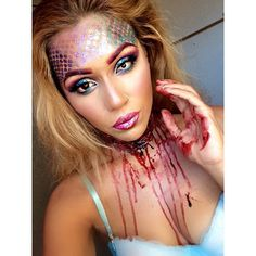 17 Sparkly Halloween Costumes For the Shiniest Girl in the Room Zombie Mermaid