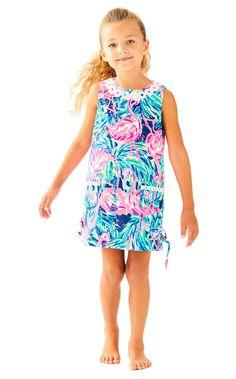 0c801bd6b73 Little Lilly Classic Shift in Multi Flamenco Beach Girls Party Dress