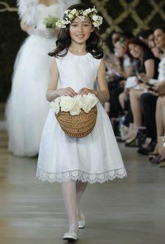 Oscar de la Renta - Spring 2013 cuteflower girl dress for older girls