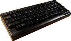Leather keyboard. #TreatYoSelf