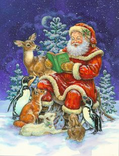 Santa -- Christmas By Donna Race