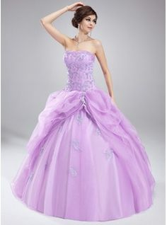 Special Occasion Dresses - $209.99 - Ball-Gown Sweetheart Floor-Length Organza Satin Quinceanera Dress With Ruffle Lace Beading  http://www.dressfirst.com/Ball-Gown-Sweetheart-Floor-Length-Organza-Satin-Quinceanera-Dress-With-Ruffle-Lace-Beading-021004660-g4660