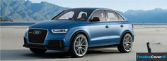 Audi Q3 Rs Concept Facebook Timeline Cover Facebook Covers - Timeline Cover HD
