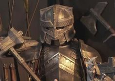 Dwarven Weapons and Armour - Lord of the Rings Wiki