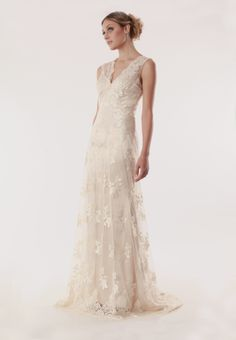 all lace sheath wedding dress in Champaign