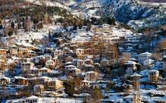 Pelio Magnisia Top Winter Destinations in Greece New Years 2016, Year 2016, Winter Tops, Christmas And New Year, Athens, Travel Guide, City Photo, Greece