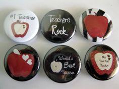 Teacher magnet set / 111 by Getagripmagnets on Etsy, $7.50