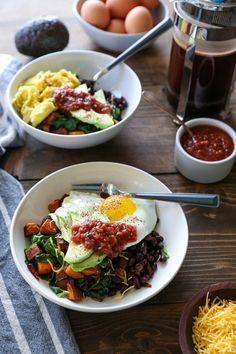 How to Build the Ultimate Healthy Breakfast Bowls | TheRoastedRoot.net #healthy #breakfast #glutenfree