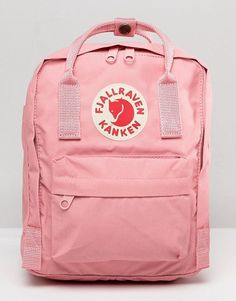 Order Fjallraven Classic Mini Kanken Backpack In Pastel Pink online today at ASOS for fast delivery, multiple payment options and hassle-free returns (Ts&Cs apply). Get the latest trends with ASOS. Pink Kanken, Kanken Backpack Mini, Pastel Backpack, Mochila Kanken, Cute Backpacks For School, Backpack Outfit, Classic Mini, Just In Case, Asos