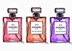 coco chanel perfume drawing - Google Search