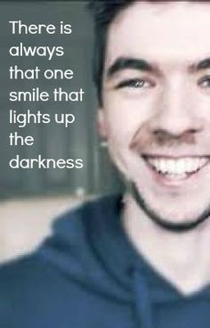 Jack and Mark can always somehow brighten my day, no matter how thick the clouds or how profuse the tears, the light of their smile breaks through, and I can't help but copy :)