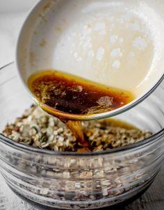 Baby Breakfast, Perfect Breakfast, Breakfast Recipes, Breakfast Ideas, Dried Blueberries, Dried Figs, Dried Cherries, Agave Nectar Recipes, Maple Granola Recipe