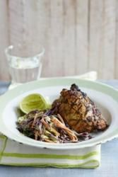 Anjum Anand's Grilled Herb Tandoori Chicken & Slaw recipe
