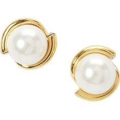 kate spade new york Danity Sparklers Pearl Studs Earring ($48) ❤ liked on Polyvore featuring jewelry, earrings, fashion accessories, white, stud earring set, pearl jewelry, white earrings, studded jewelry and pearl stud earrings