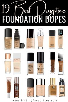 Best Foundation For Dry Skin, Best Drugstore Foundation, Foundation Dupes, Make Up Dupes, Drugstore Makeup Dupes, Makeup Deals, Lip Stain, Best Makeup Products, Beauty Products