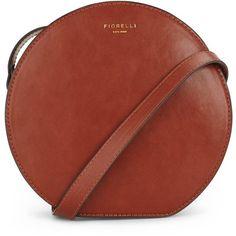 Fiorelli Joseph Round Crossbody Bag (975 ZAR) ❤ liked on Polyvore featuring bags, handbags, shoulder bags, red cross body purse, crossbody purse, fiorelli handbags, fiorelli und round handbag