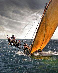 Swahili Dhow Racing . Kenya